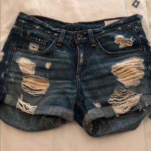 Rag and Bone boyfriend shorts